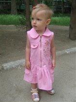 Маленькая модница Валерия