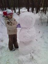 Снеговичок.....скоро будет готов))