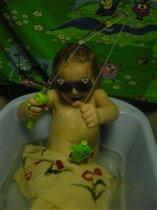 В ванне и помыться можно, и рыбку половить!!!