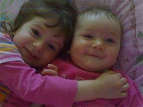 Мои доченьки