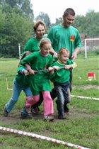Мама, папа, я, я, я - мы спортивная семья!