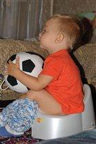 Вот такой я, будущий футболист!