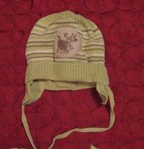 шапочка зеленая