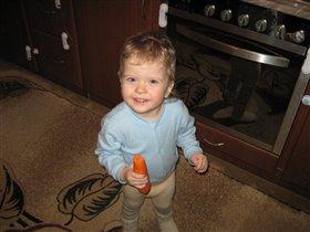 Обажаю есть морковку!!!!