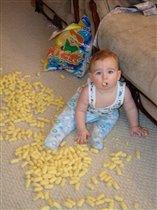 сережка - кукурузный бандит