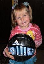 Юлия-: юная футболистка
