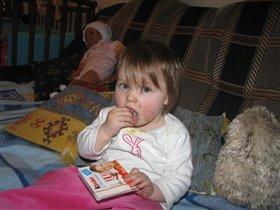 Моя первая шоколадка)))