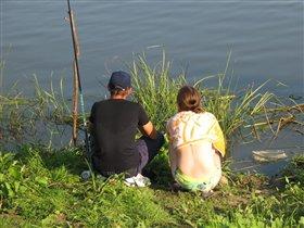 C понедельника на рыбалку