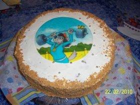 Торт  'Сникерс'
