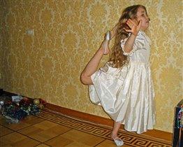 С понедельника запишусь в балетную школу.