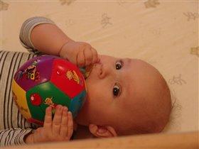 Любовь к мячу с младеньчества