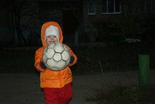 футболистка с ранних лет