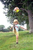 Буду футболистом...