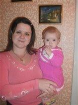 Сонечка и мама
