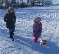 Зимние тренировки никто не отменял!