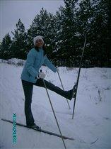 С понедельника встаю на лыжи!
