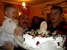 Первый Настенкин день рождения