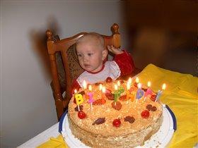 Этот торт не вернет, сбритых в годик мне волос(((