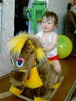 Скачки на лошадке