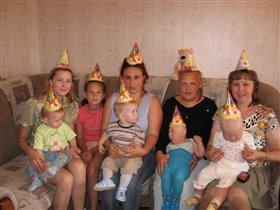 Первый День Рождения Кирилла!