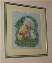 Теа Гувернерский Мальчик с кроликом