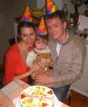самый первый день рождения!!!!