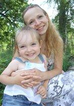 Цветочки-мама и дочка!