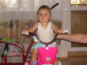 Вот вырасту и буду велогонщицей