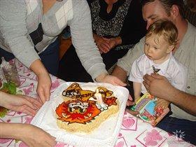 Вот это торт!