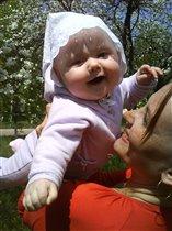 Хочу веснушки как у мамы!!!