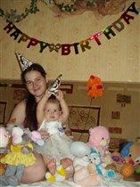 Мой первый День рождения: мама, я и мои друзья!
