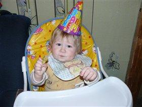 Первый день рожденья мой-я герой!