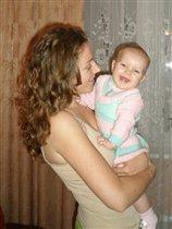 Любимая мама)))