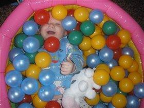 купание в шарах