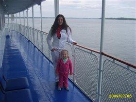 Прогулка по реке Волга