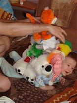все свои игрушки я вожу с собой