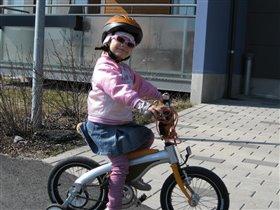 София- велосипедистка