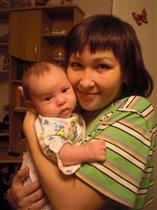 Какое счастье быть мамой такого чудесного малыша!!