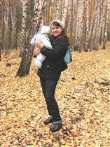 В осеннем лесу)