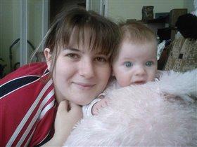 Мамочка и дочка