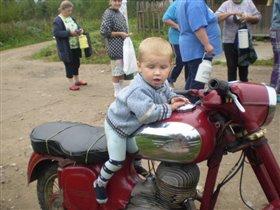 Я-мотоциклист!