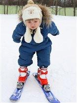 летаюший лыжник