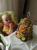 Фруктовая тарелка- это объедение!!!