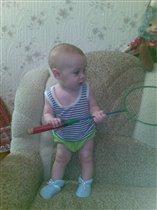 Учусь играть в банбинтон!