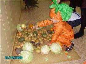 Морковка!