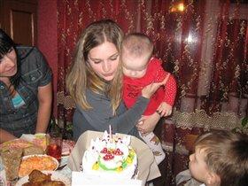 Локтева Александра, 1 год