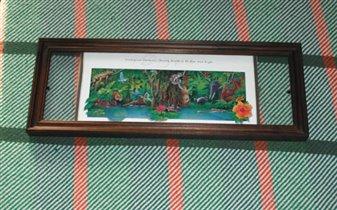 Рамка дерево+ стекло спереди