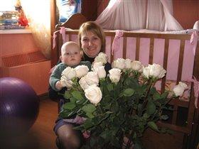цветы для любимых девочек