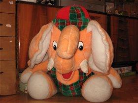 Игрушечный слон 60 см - БОЛЬШОЙ
