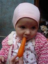 Люблю свежую морковку...
